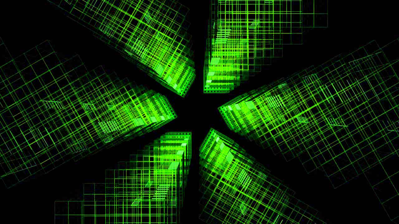 Silent Green Animated Wallpaper - YouTube