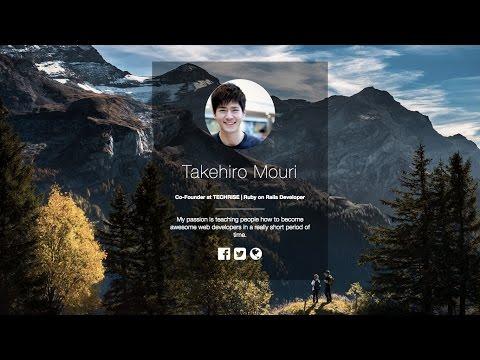 Create a simple personal resume website