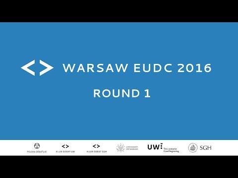 Warsaw EUDC 2016 - Round 1 [Channel 1]