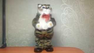 Танцующий музыкальный кот игрушка (3 песни)