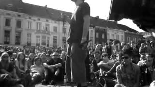Dub Fx Street Performance in Ghent | The Rain Is Gone, Hiphop & Time Will Tell