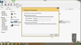 HOW TO LOCK YOUR HARD DRIVE PARTITION WITH PASSWORD