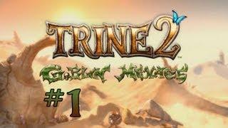 Trine 2: Goblin Menace - Walkthrough - Part 1 - The Heroes Returns (PC) [HD]