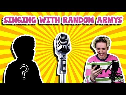 singing bts songs with random people on smule