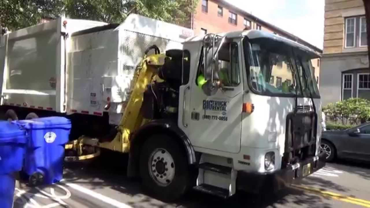 Casella waste services big truck rental autocar acx heil durapack pyhon asl