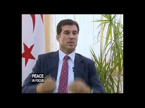 "THE CYPRUS PROBLEM ON ""PEACE IN FOCUS"" WITH MONA SEWILAM, EGYPTIAN STATE TV"