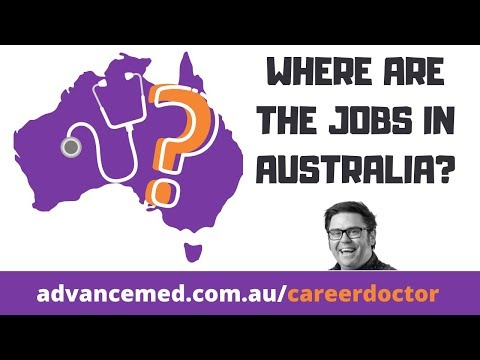How To Find A Doctor Job In Australia. Two Key Concepts: DWS & AON.