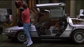 Сцена из фильма назад в будущее 2 совпадает с песней Nobody but you.