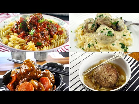 4 Delicious Slow Cooker Meatball Recipes