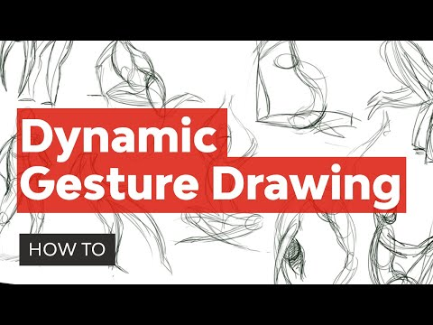 Create Dynamic Poses Using Gesture Drawing - YouTube