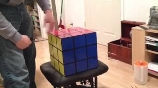 """12""""x12""""x12"""" Rubik's Cube Container"""