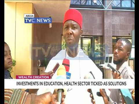 Investments in education, health sector ticked as solutions to wealth creation thumbnail