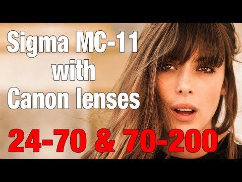 Sigma mc-11 REVIEW (Real photoshoot) with canon lenses 24-70 & 70-200 ps it sucks with Sigma Lenses