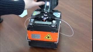 видео Сварочный аппарат для оптоволокна: назначение и функционал