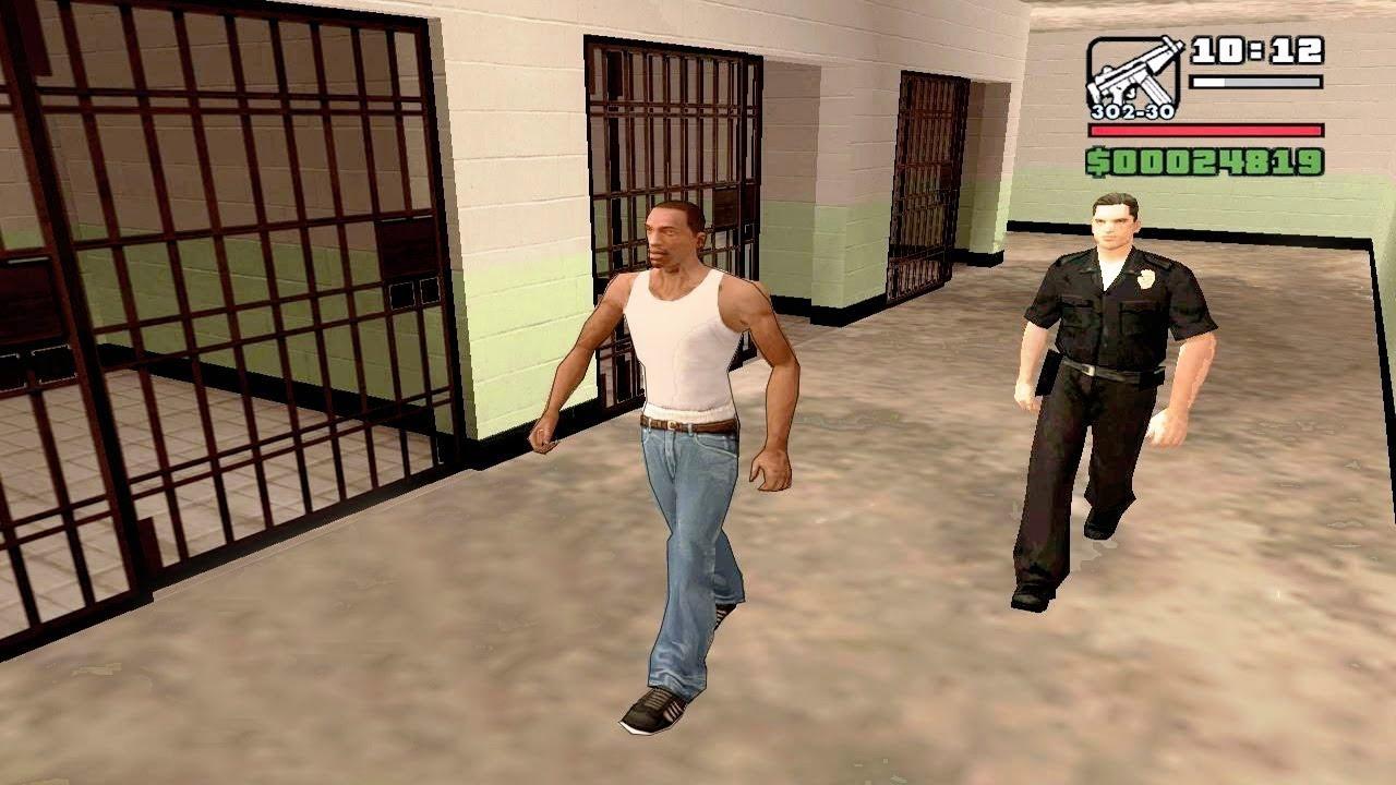 Что будет если Сиджея Поймает Полиция в Gta San Andreas