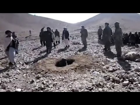 Woman Stoned To Death By Taliban On Video