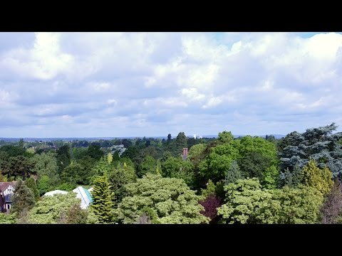 Drone footage of the University of Leicester campus and student halls