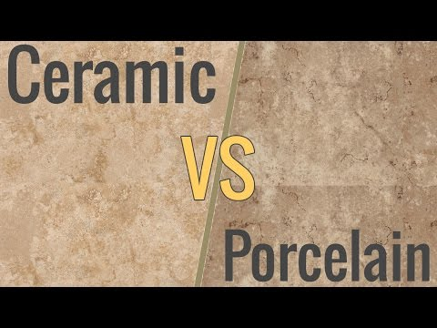 The Difference Between Ceramic & Porcelain Tile