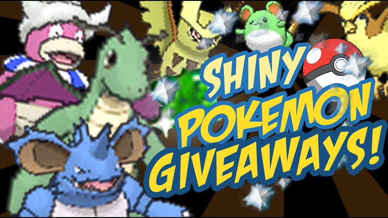 Pokemon oras game giveaways