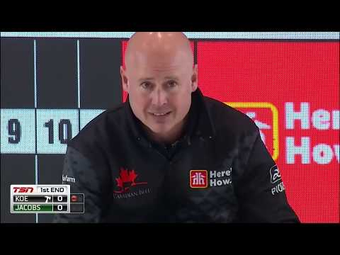 2019 Home Hardware - Canada Cup of Curling - Koe vs Jacobs - Draw3