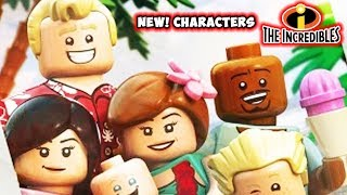 NEW! Characters in LEGO Incredibles! 6 New Characters Pack!