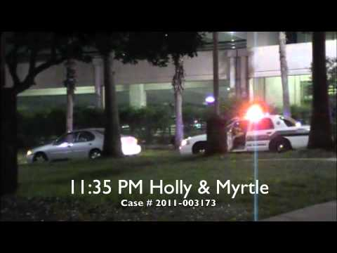 05052011 USF P.D. series of traffic stops