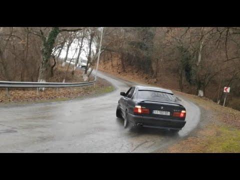 Mountain Drift Lagodekhi BMW E34 520 & 525