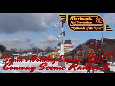 Conway Scenic Railroad's Santa Trains: 12-16-17