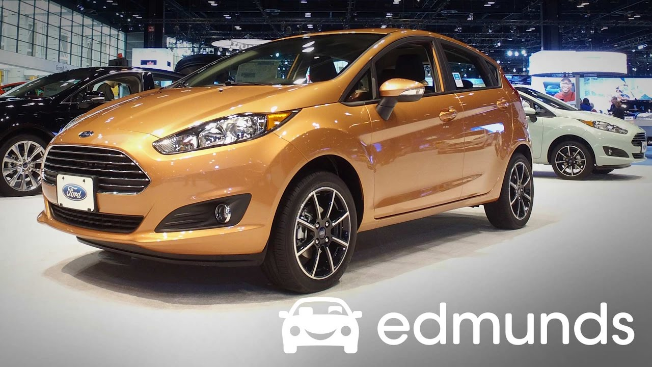 Used 2019 Ford Fiesta Prices Reviews And Pictures Edmunds