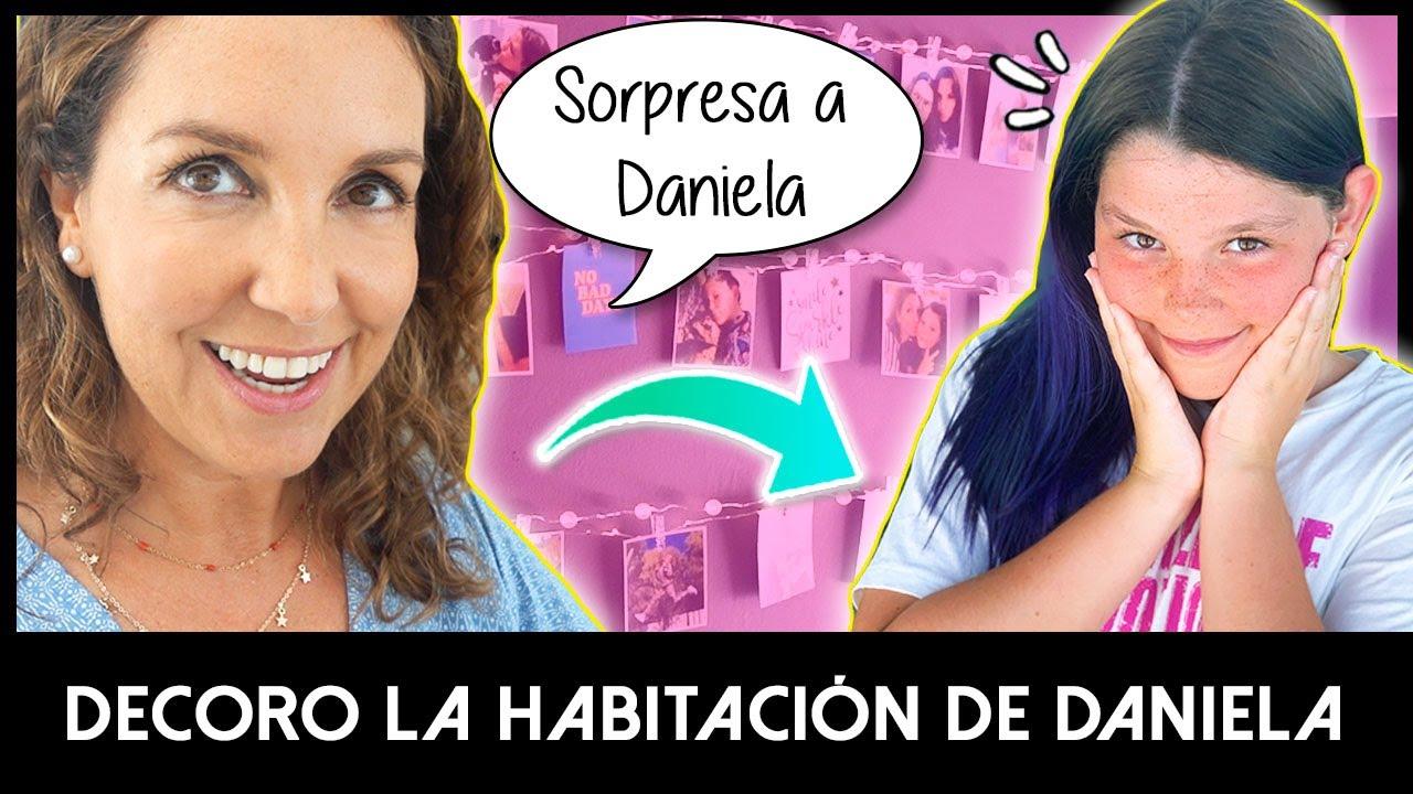 DECORO la HABITACIÓN DE DANIELA por  SORPRESA ¡NO SE LO ESPERABA! 😱 HUGO TIENE su PRIMER LIBRO 😍