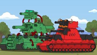 КВ-44 против КВ-666 Мультики про танки