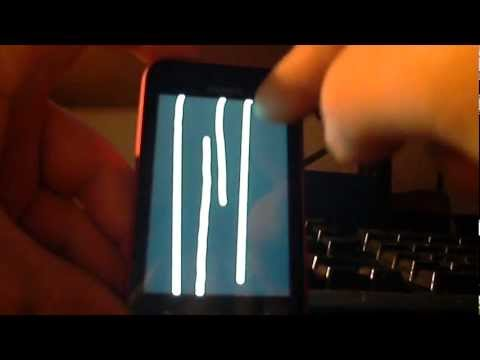 SE Xperia tipo - Problems with touchscreen