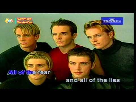 We Are One - Westlife (Karaoke VCD)