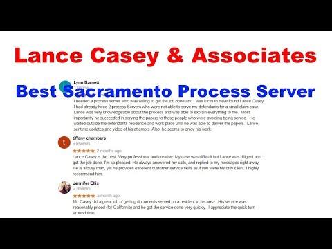Process Server Sacramento CA 95660 |  Lance Casey & Associates