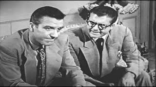 Superman rescues Ward Cleaver - Hugh Beaumont guest star 1953 TV series