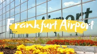 Transit walk at Frankfurt Airport, FRA Terminal 1  |  Connection flight transfer & ...