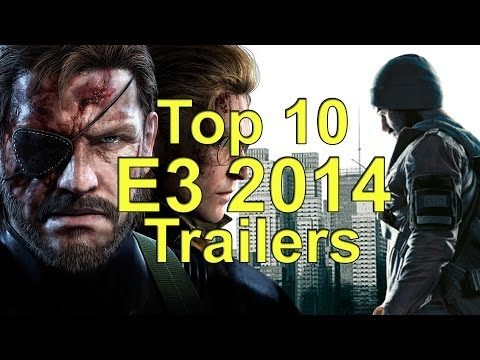 Top 10 Trailers of E3 2014
