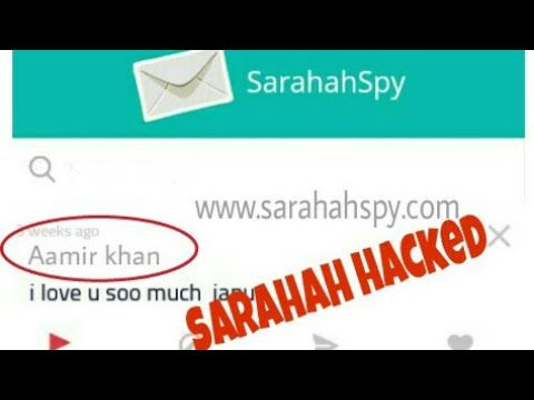 Sarahah hack : How to reveal sender's facebook profile or email address|100% real.