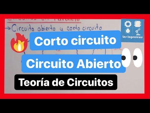 Circuito En Paralelo Ejemplos : Corto circuito y circuito abierto ejemplo análisis de circuitos