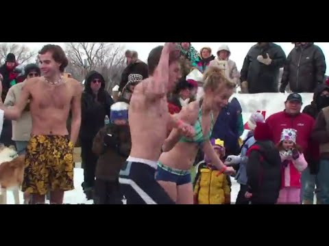 1/1/2015 Polar Plunge at Lake Minnetonka LIVE