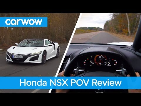 Honda-Acura NSX POV Review | Test Drives