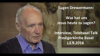 Drewermann zu Jesus und Papst Franziskus