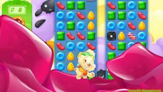 Candy Crush Jelly Saga Level 1611 (3 stars, No boosters)