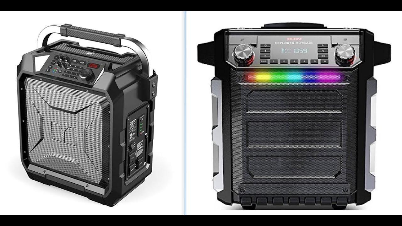 Monster Rockin Roller 3 Vs Ion Explorer Outback Bluetooth Speaker