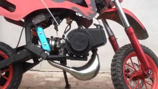 Jak startovat minicross nitro