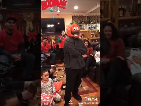 Happy Holidays! | Tomato Head Fortnite Mask