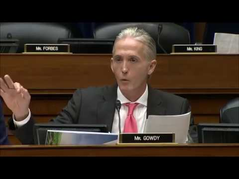 "Gowdy and Chaffetz Team Up to Destroy FBI Comey ""why is everyone 'pleading the 5th?'"