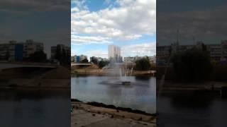 Экстрим с фонтанами Русановки