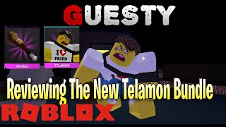 Reviewing The New Telamon Bundle *GUESTY CHAPTER 5* | ROBLOX