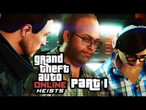 GTA 5 Heists - FLEECA JOB  - Setup & Heist Gameplay Walkthrough Part 1